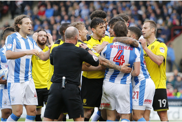 Huddersfield Town vs Burton Albion SkyBet EFL Championship 01_04_17